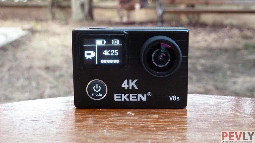 Eken V8s 4K video stabilization Action Camera Review