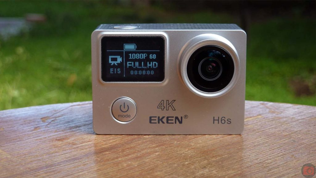 Eken H6s 4K Action Camera Review
