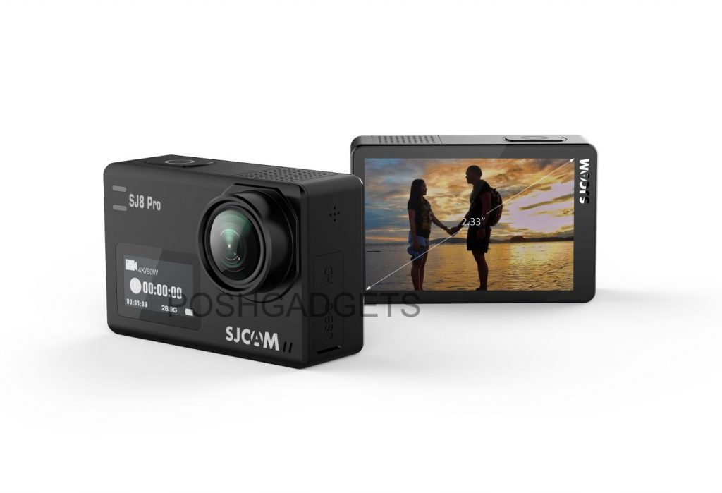 SJCAM Announced SJ8 Series (SJ8 Pro, Air, Plus)