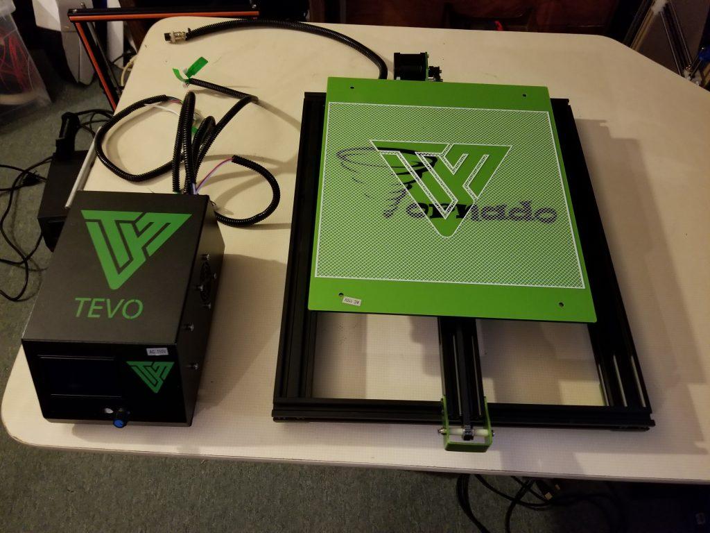 TEVO Tornado - Aluminum 3D Printer Review | Pevly