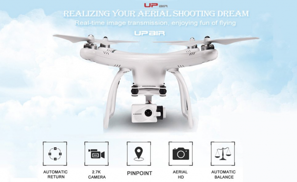 UpAir One Plus 4K Quadcopter Review – A Quality GPS Drone