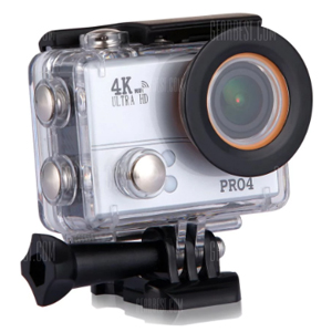 GearBest mid-year carnival product page: Action Camera 4K Sports DV Ultra HD Waterproof 20MP WiFi Waterproof 170 Degree - SILVER