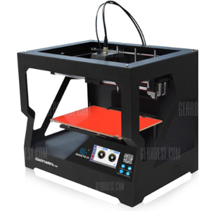 GearBest midGeeetech GiantArm D200 Cloud-based FDM 3D Printer - BLACK US PLUG 217845601