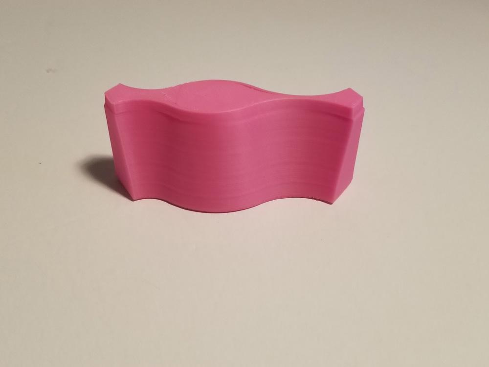 WaveTest G-Code 3D printout.