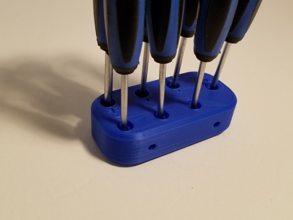 Photo: Set of screwdrivers for workbench.