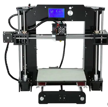Anet A6 3D Desktop Printer Kit - BLACK EU PLUG