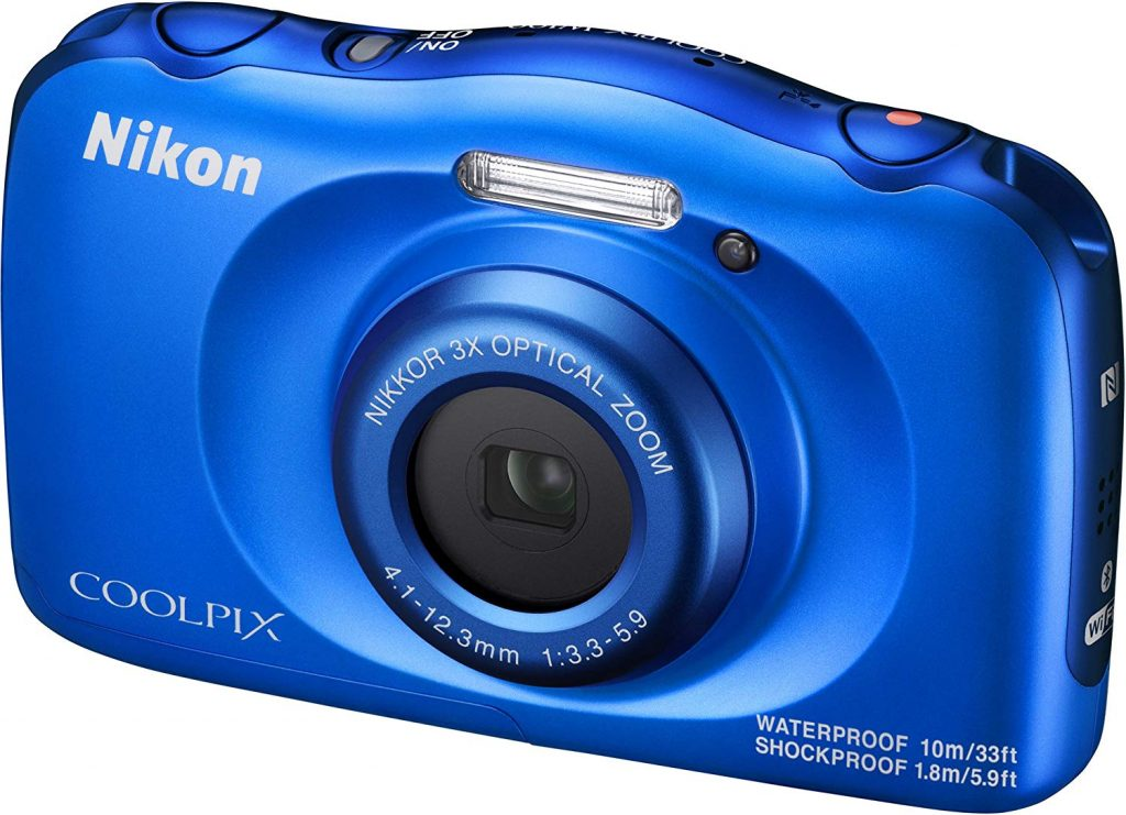 Nikon COOLPIX W100 Waterproof Compact Digital Camera