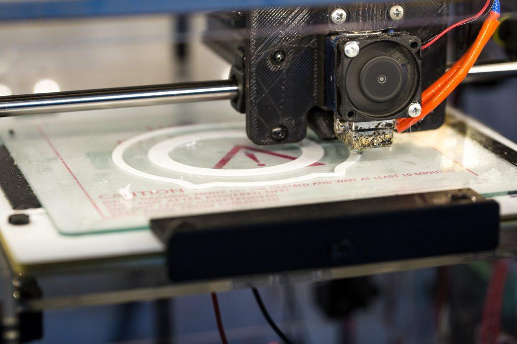 3D Printing using the 3D printer